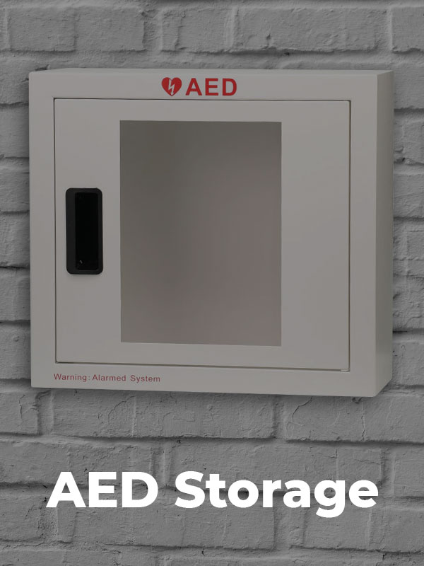 heartsaver products aed storage